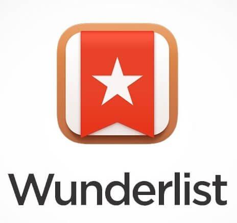 Wunderlist planning tool