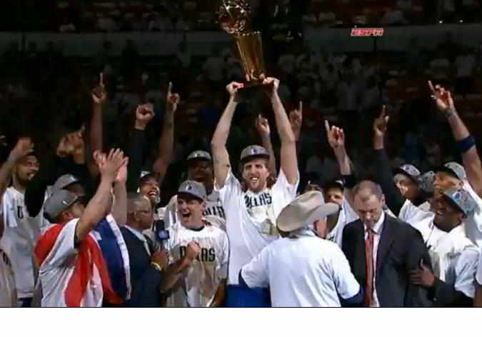 Dallas Mavericks, champions,2011
