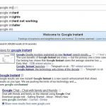 How Google instant search affects SEO