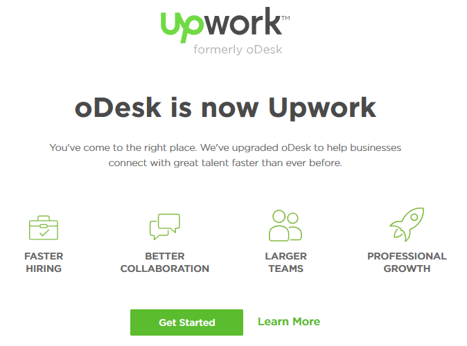 Odesk changes name to Upwork