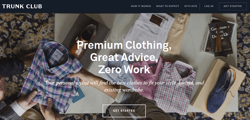 Trunk Club Subscription Ecommerce Service