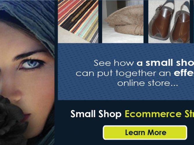 Small shop ecommerce success strategies