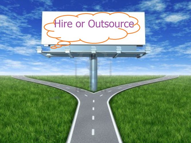 When to hire vs when to outsource