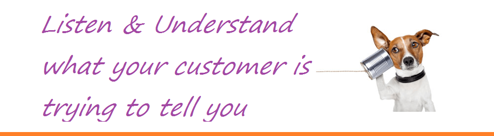 Listen to your customers and grow your business