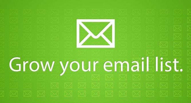 One tip to help you grow your mailing list
