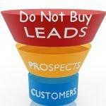 Do not buy Leads