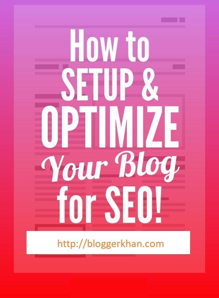 Tips for blog post SEO