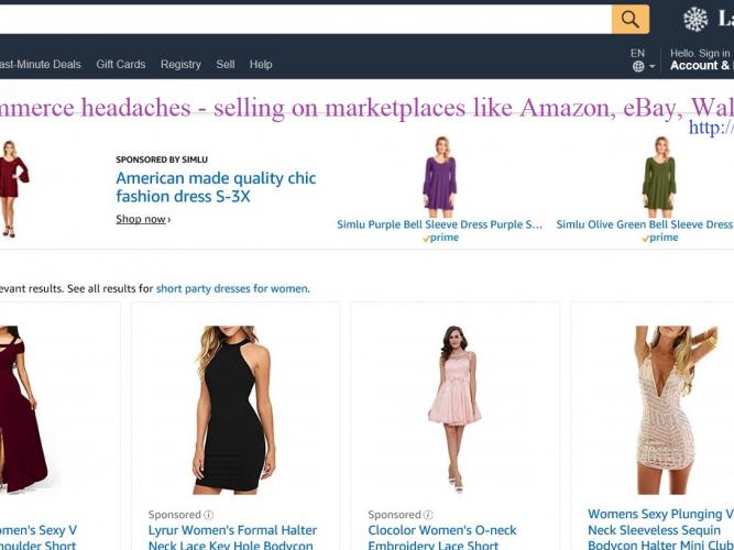 Headaches of selling on marketplaces like amazon, ebay, walmart, etsy