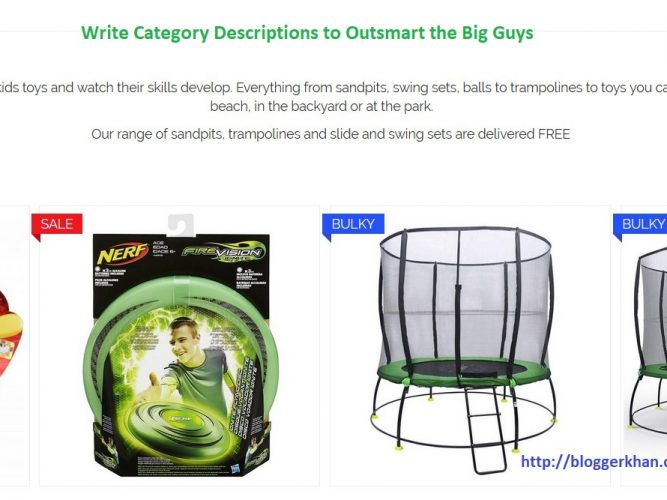 Category Descriptions gives you better SEO value - Ecommerce SEO Tip