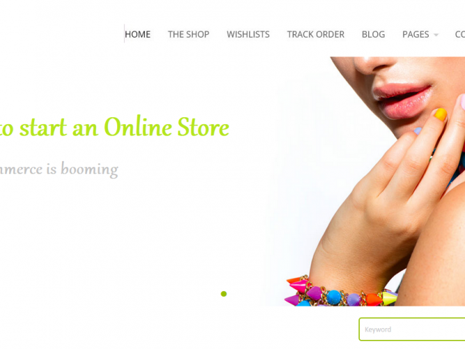 How to start an online store, open an ecommerce store / website